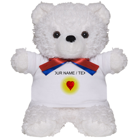 Custom Heart Angel Teddy Bear
