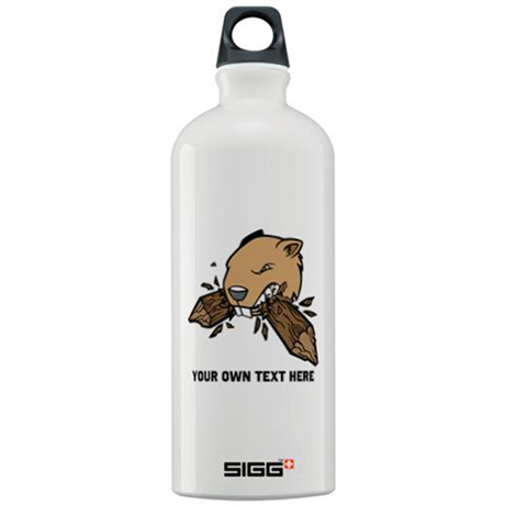 Beaver. Add your text. Sigg Water Bottle 1.0L