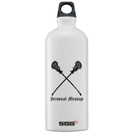 Personalized Lacrosse Sticks Sigg Water Bottle 1.0