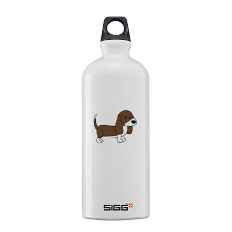 Cute Basset Hound Sigg Water Bottle 0.6L