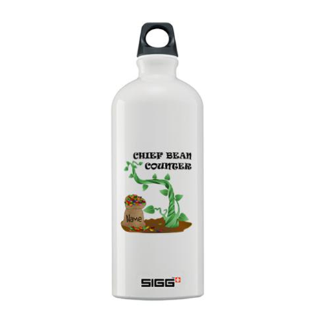 Chief Bean Counter Sigg Water Bottle 0.6L