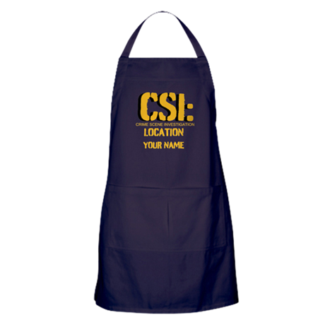 Customizable CSI Apron (dark)