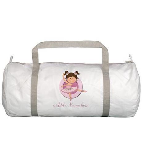 Cute Ballerina Ballet Gifts Gym Bag