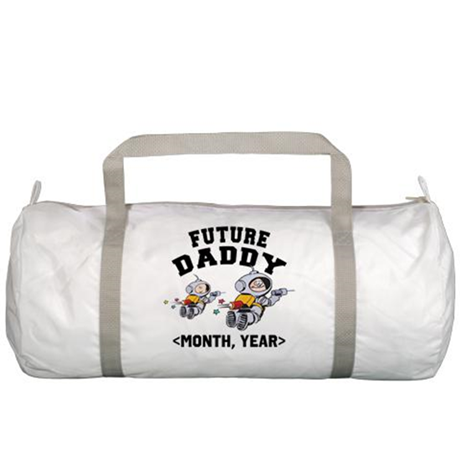 Personalized Dad To Be Gym Bag