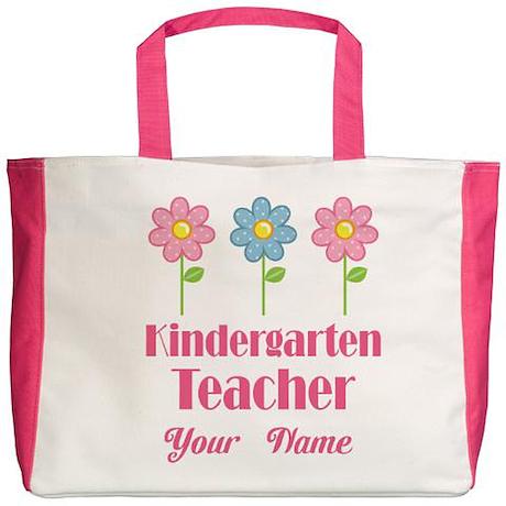 Custom Kindergarten Tote