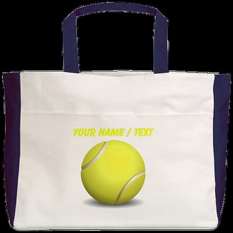 Custom Tennis Ball Beach Tote