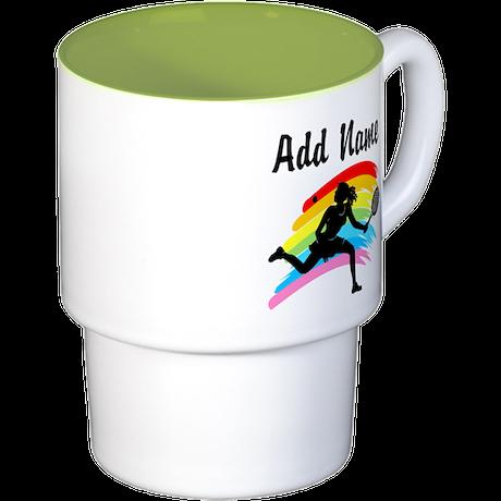 I LOVE TENNIS Stackable Mug