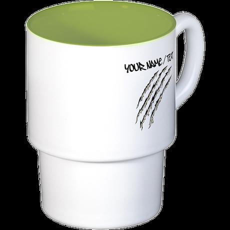 Torn Claw Mark Coffee Cups