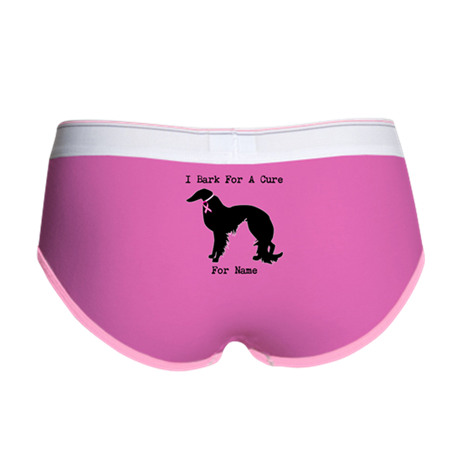 Irish Setter Personalizable I Bark For A Cure Wome