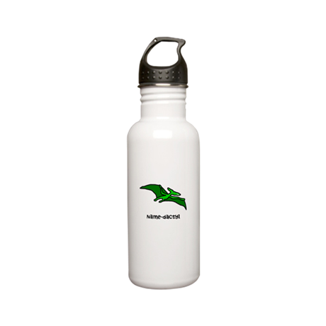 Name your own Pterodactyl! Stainless Water Bottle