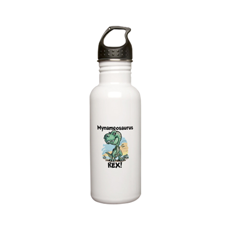 Personalizable Rex Stainless Water Bottle 0.6L