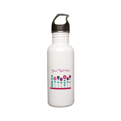 design Stainless Water Bottle 0.6L
