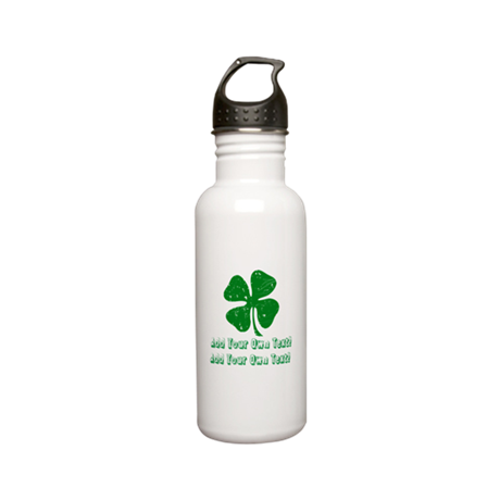 Personalize it - St. Patty's Day Stainless Water B