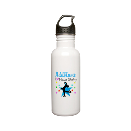 LOVE FIGURE SKATING Stainless Water Bottle 0.6L