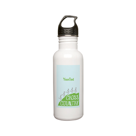 CUSTOM Cross Country Stainless Water Bottle 0.6L
