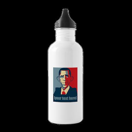 Anti-Obama election 2012 personalized Stainless Wa