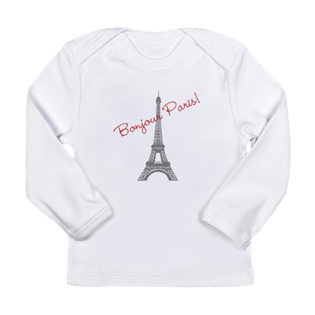 Eiffel Tower Long Sleeve Infant T-Shirt