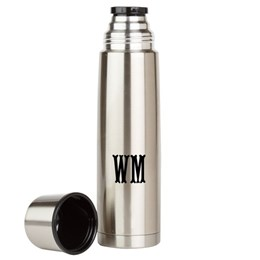 Custom Initials Large Thermos