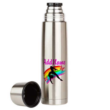 1ST PLACE GYMNAST Large Thermos Bottle