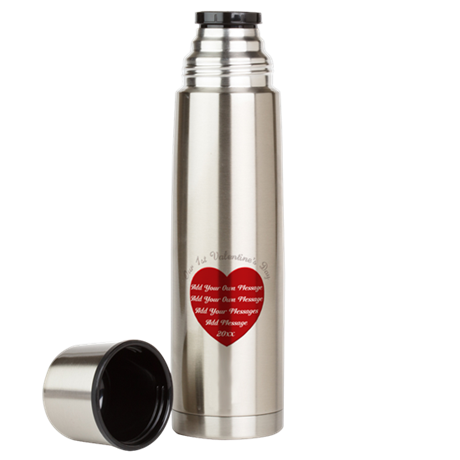 Our 1st Valentine's Day Large Thermos Bottle