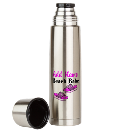 BEACH BABE Large Thermos Bottle
