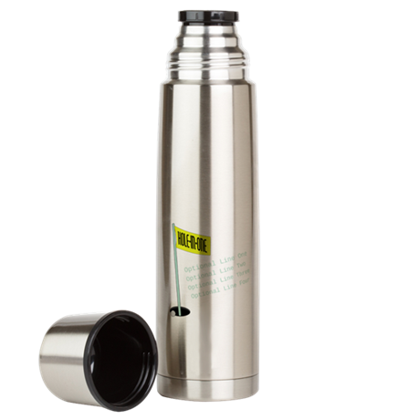 Golf Hole in One Large Thermos Bottle