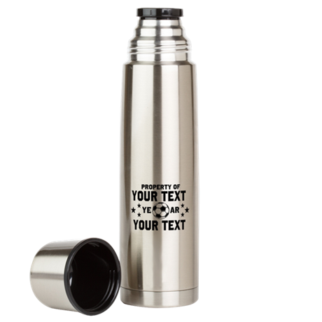 Personalized Property of Soccer Large Thermos® Bot