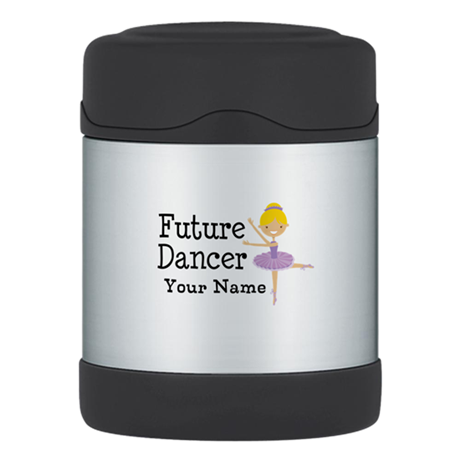 Personalized Future Dancer Thermos Food Jar