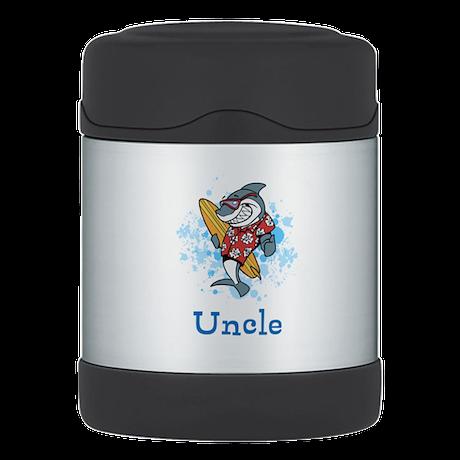 Uncle Cartoon. Custom Text. Thermos Food Jar