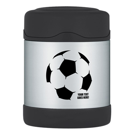 Personalized Soccer Thermos® Food Jar