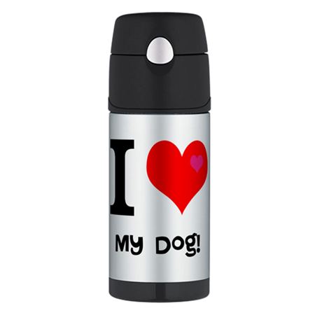 Personalised I Love... Thermos Bottle (12oz)