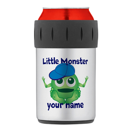 Little Monster Boy Thermos Can Cooler