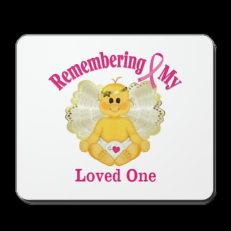 Remembrance Angel Mousepad