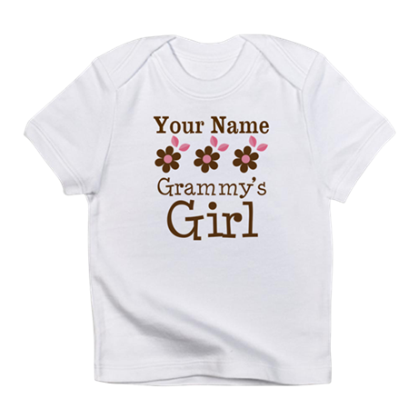 Personalized Grammy's Girl Infant T-Shirt