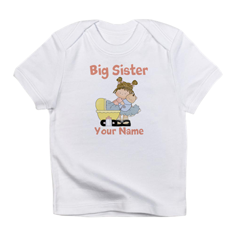 Big Sister Custom Infant T-Shirt