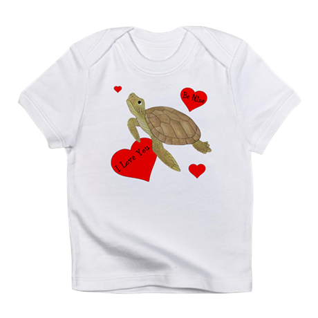 Personalized Turtle Infant T-Shirt