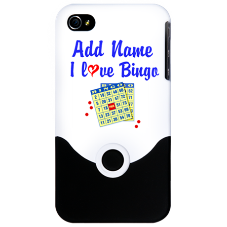 BINGO QUEEN iPhone 4 Slider Case