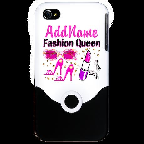 FASHION QUEEN iPhone 4 Slider Case