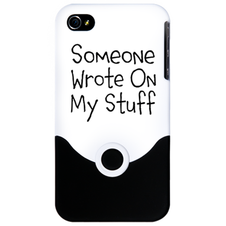 Someone Wrote On My Stuff. iPhone 4 Slider Case