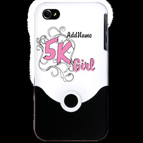 5k Optional Text iPhone 4 Slider Case