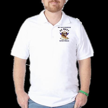 PERSONALIZED USN PRIDE SHIRT Golf Shirt