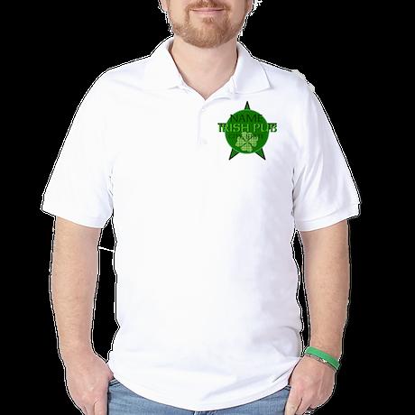 Custom Irish Pub Golf Shirt