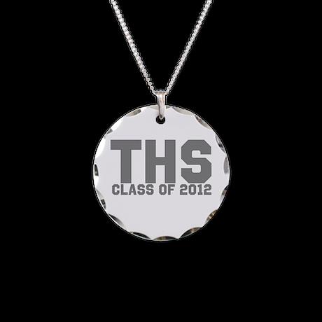2012 Graduation Necklace Circle Charm