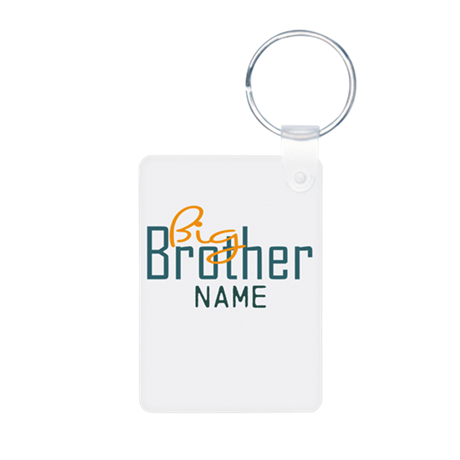 Personalized Add Name Big Brother Print Aluminum P