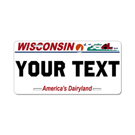 Wisconsin current license plate replica by werewolfspeedshop for Wisconsin drivers license template