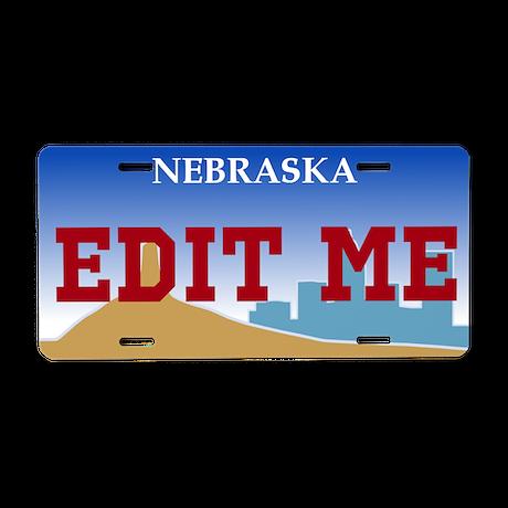 Nebraska - 2000 license plate replica