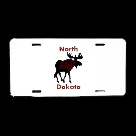 Customized Plain Moose Aluminum License Plate