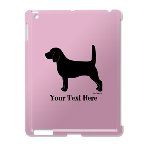 Beagle - Your Text! iPad2 Case