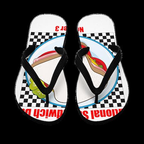 Sandwich Flip Flops