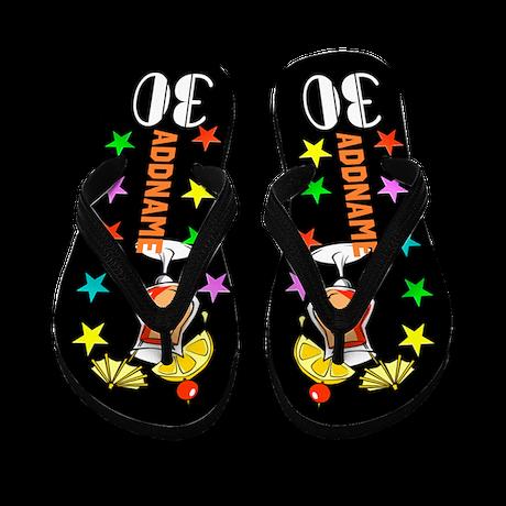Outrageous 30Th Flip Flops